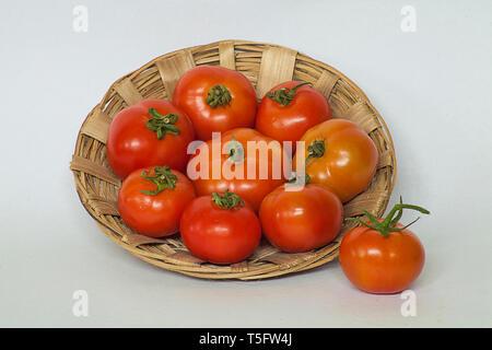 tomatoes ,pendurthy,visakhapatnam - Stock Image