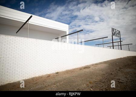 The Adega Mayor vineyard designed by Pritzker Award winning architect Álvaro Siza - Stock Image