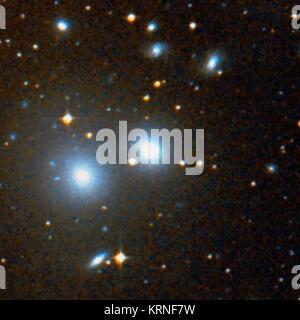 NGC 3309 - Stock Image