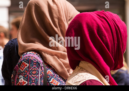 Muslim women head covering - Stock Image