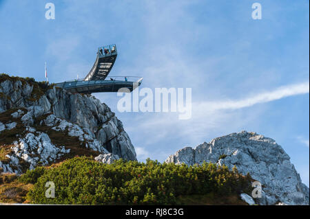der 'Alpspix', bei Garmisch Partenkirchen - Stock Image
