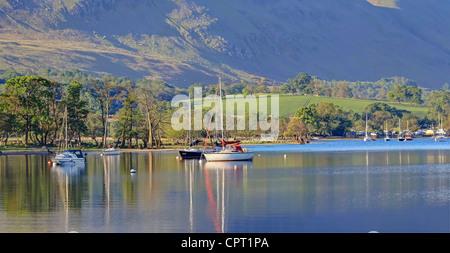 Calm Waters of Lake Ullswater - Stock Image