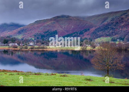 Great Rigg and Grasmere, Lake District, Cumbria - Stock Image