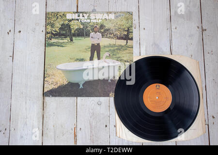 Billy Swan's 1974 album 'I Can Help' - Stock Image