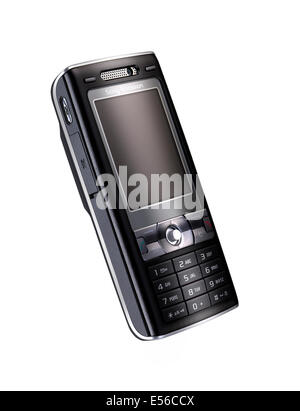 An old styled Sony Ericcson mobile phone - Stock Image