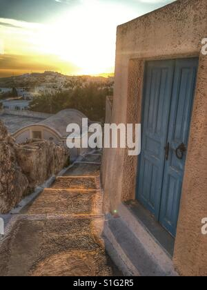 Pyrgos, Santorini - Stock Image