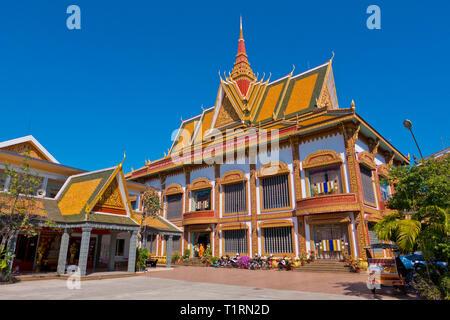 Pagoda Preah Prom Rath, Wat Preah Prom Rath, Siem Reap, Cambodia, Asia - Stock Image