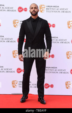 LONDON, UK. May 12, 2019: Marvin Humes arriving for the BAFTA TV Awards 2019 at the Royal Festival Hall, London. Picture: Steve Vas/Featureflash - Stock Image