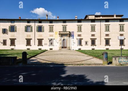 Villa di Castello (Villa Reale), near Florence, Italy. The 16c country home of Cosimo de' Medici, famous for its gardens - Stock Image