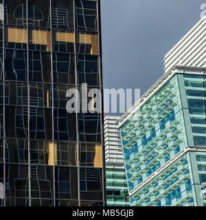 Office buildings at Snow Hill Birmingham UK - Stock Image