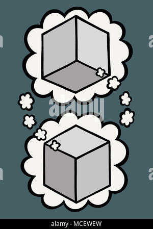 Think box think - Stock Image