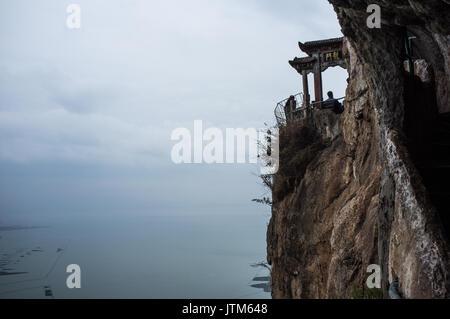 Western Hill & Dragon Gate, Xishan, Kunming, Yunnan, China - Stock Image