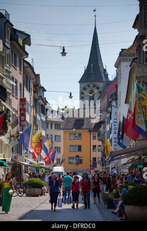 Switzerland, Zurich, old city. - Stock Image