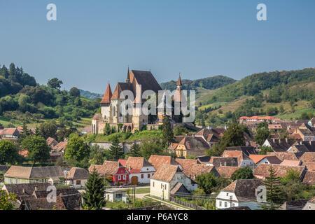 Romania, Sibiu County, Biertan City, Fortified Church of Biertan, (W.H.) - Stock Image