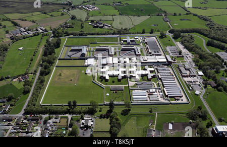 aerial view of HMP Wymott - Stock Image