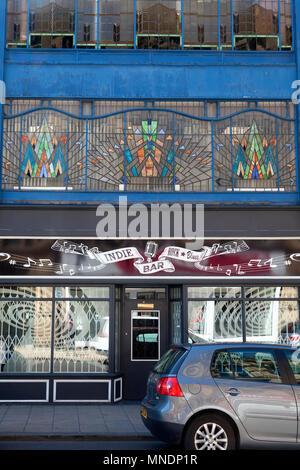 Indie Rock & Blues Bar, Bradford, West Yorkshire - Stock Image