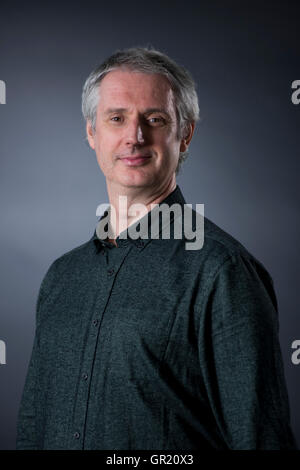 Orchestra conductor and Author Paul MacAlindin. - Stock Image