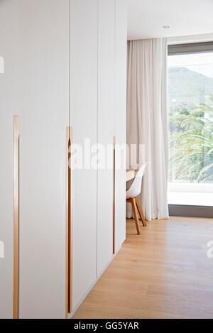Interior of modern house corridor - Stock Image
