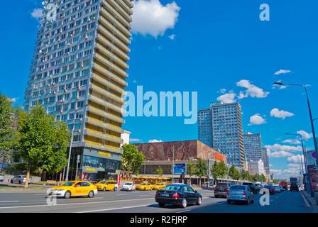 Novy Arbat, Moscow, Russia - Stock Image