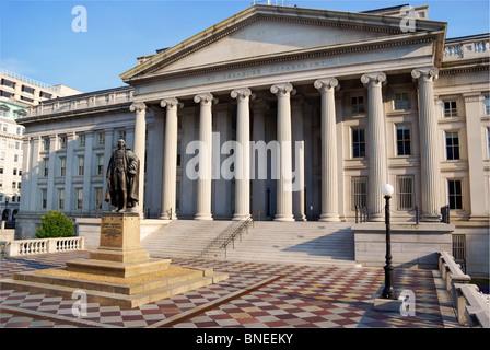 Treasury building, Washington DC - Stock Image