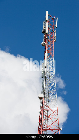 Cellular antenna tower , Finland - Stock Image