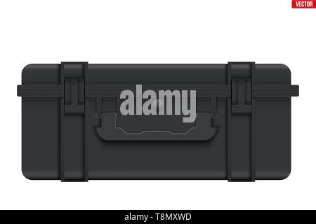 Protective Waterproof Plastic Case - Stock Image