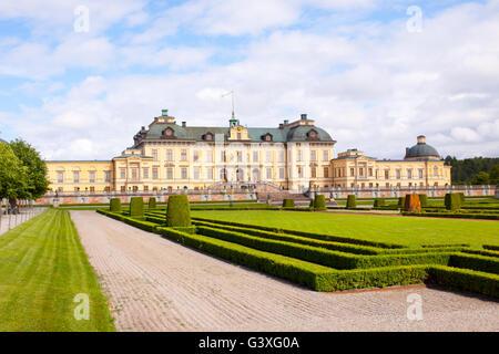 Rear View Drottningholm - Stock Image