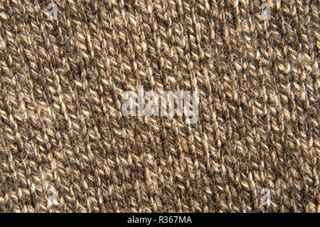 Woolen fabric close up - Stock Image