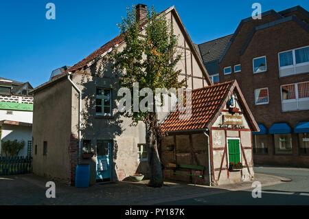 Former Zückerbäkerei in Bad Driburg, NRW, Germany. - Stock Image