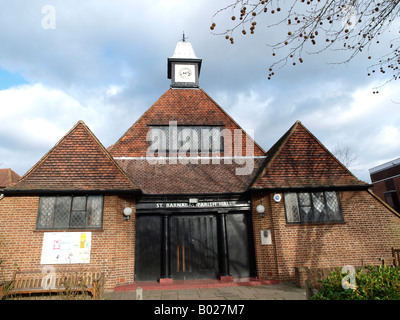St Barnabas Parish Hall Dulwich Village London - Stock Image