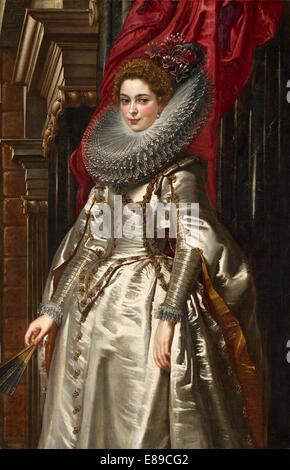 Sir Peter Paul Rubens (Flemish, 1577 - 1640 ), Marchesa Brigida Spinola Doria, 1606, oil on canvas - Stock Image