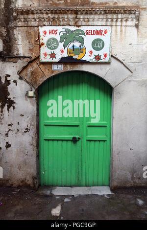 Door in Urfa Sanliurfa, Turkey - Stock Image