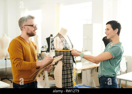 Fashion designers at work - Stock Image
