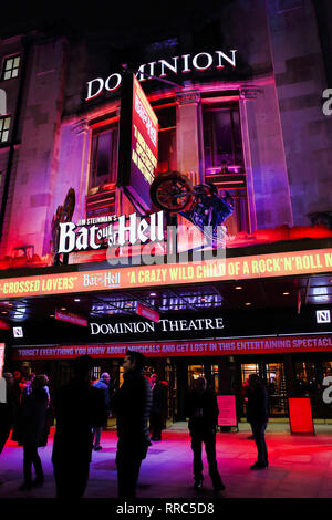 Dominion Theatre, Bat out of Hell Musical, Tottenham Court Road, London, England, UK - Stock Image