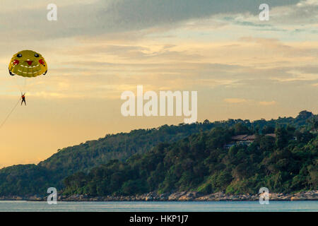 Landscapes, architectural monuments and sights of Phuket - Stock Image