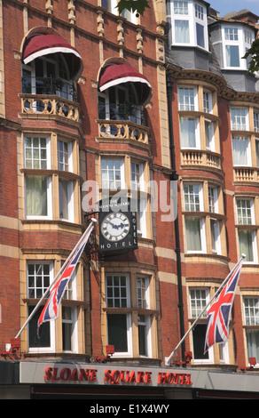 Sloane Square Hotel Chelsea London - Stock Image