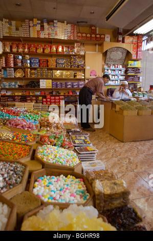 Sweet and produce store Dubai - Stock Image