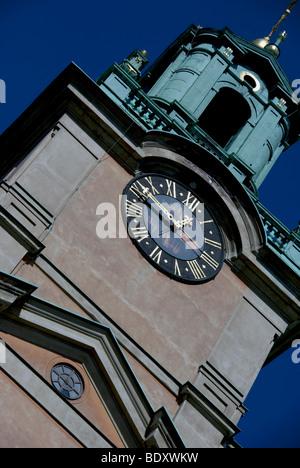 Storkyrkan in Gamla stan, Stockholm, Sweden - Stock Image