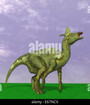 Dinosaurier Lambeosaurus / dinosaur Lambeosaurus - Stock Image