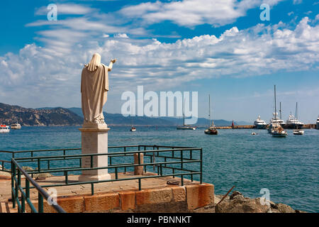 Santa Margherita resort, Italian Riviera, Liguria - Stock Image