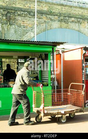 Shepherds Bush Market, London, UK - Stock Image