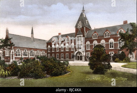 King's College, Taunton, Somerset - Stock Image