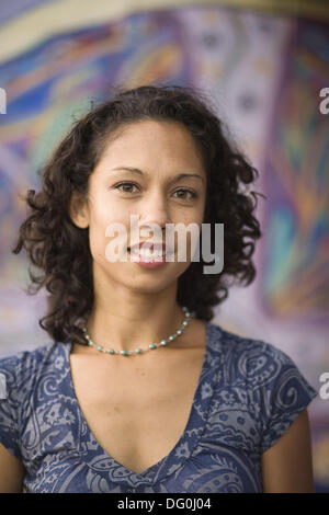 Berkeley, California, Portrait of a young woman, USA - Stock Image