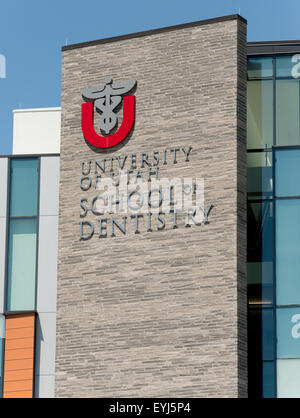 University of Utah School of Dentistry - Salt Lake City - Stock Image