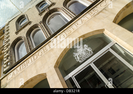 Cambridge Magistrates' Court - Stock Image