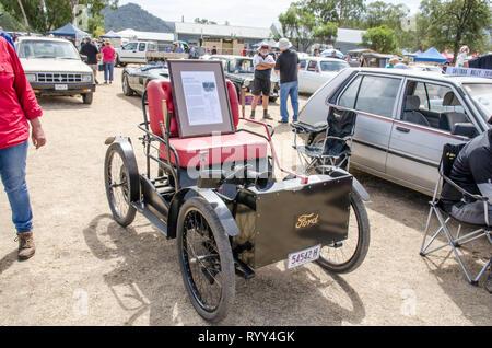 Ford Quadricycle on display at a car show at Moonbi near Tamworth Australia. - Stock Image