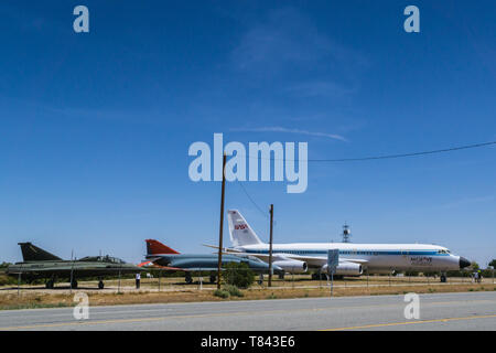 The Mojave Air and Space Port in Mohave California USA - Stock Image