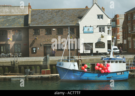 Weymouth Harbour Dorset - Stock Image