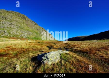 Kirkstone pass Scenery,Ambleside,Lake District,Cumbria,England UK - Stock Image