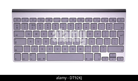 A cut out shot of an Apple keyboard - Stock Image